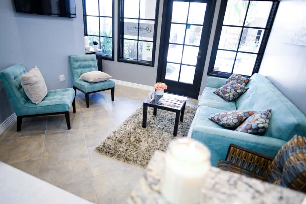 carlsbad shores dentistry interior waiting room