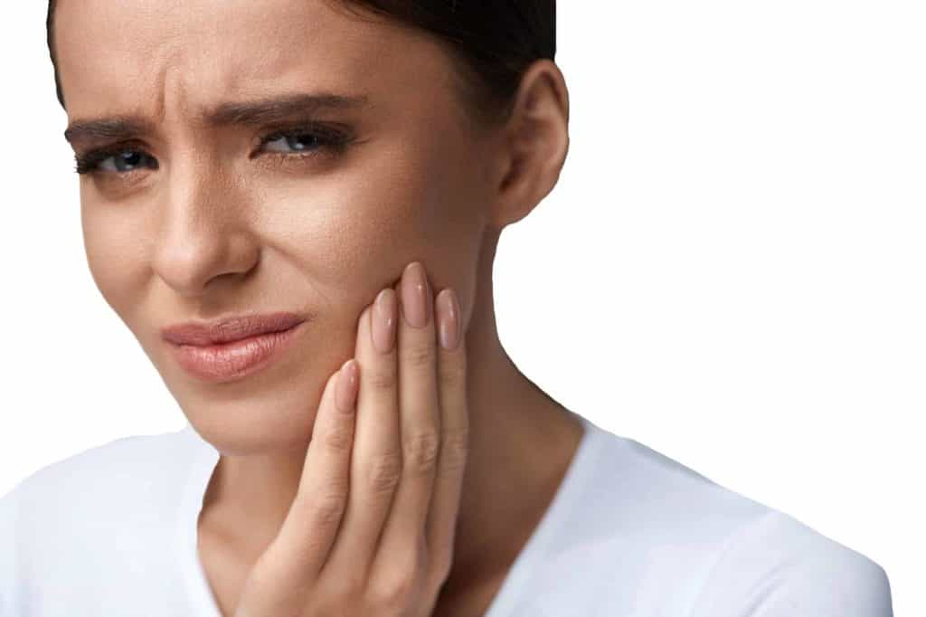 carlsbad shores dentistry lady with dental pain dental emergency