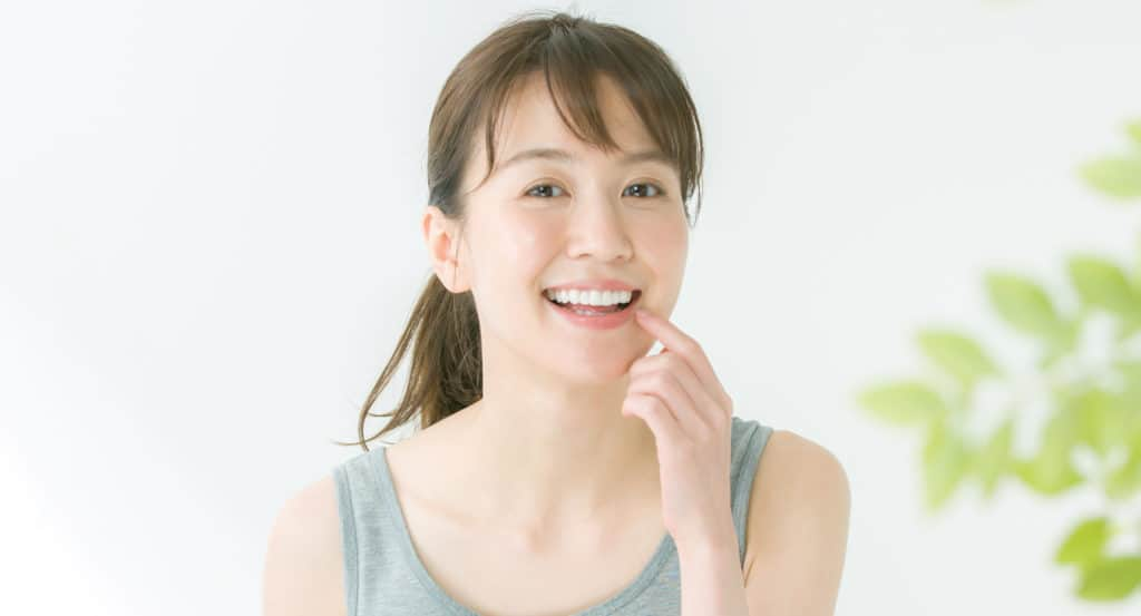 carlsbad shores dentistry smiling young lady